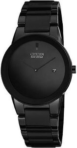 Citizen Citizen Eco-drive Axiom Black Ip Mens Watch Au1065-58e
