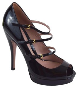 Gucci Lisbeth Heels black Platforms