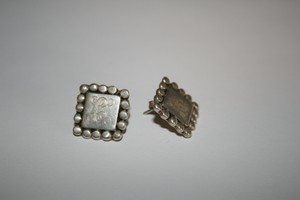 Other Sterling Silver Earrings With Initial
