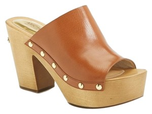 MICHAEL Michael Kors Brown Mules