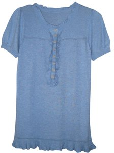 Juicy Couture Button Down Shirt Soft Blue