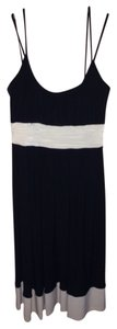 Jones New York short dress Black/Cream on Tradesy