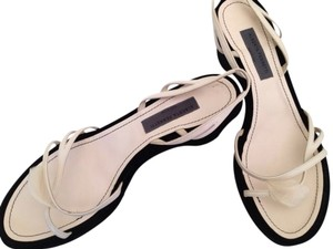 Alberta Ferretti White & black Platforms