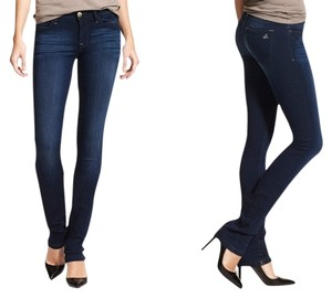DL1961 64% Promodal 34% Polyester 2% Lycra Straight Leg Jeans-Medium Wash
