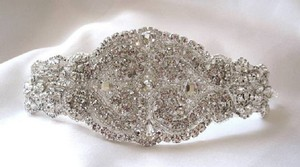 Other Bridal Beaded Swarovski Crystals Bracelet Cuff