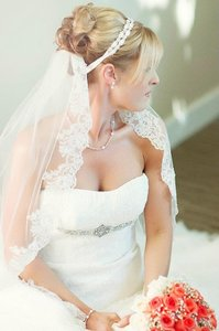 Other Wedding Bridal Dress Gown Beaded Jeweled Crystal Belt Sash