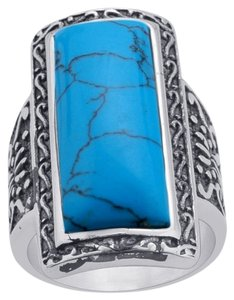 Other Blue Howlite Ring