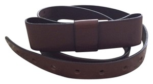 Gap Chocolate Brown Bow Leather Belt