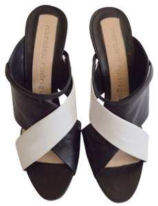 Narciso Rodriguez Black and White Wedges