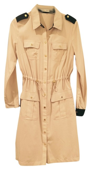 Preload https://img-static.tradesy.com/item/7482838/calvin-klein-taupe-with-black-trim-cargo-trench-knee-length-workoffice-dress-size-6-s-0-2-650-650.jpg