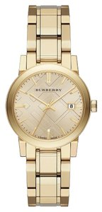 Burberry BURBERRY The City Women Watch Gold Tone Dial Steel BU9134