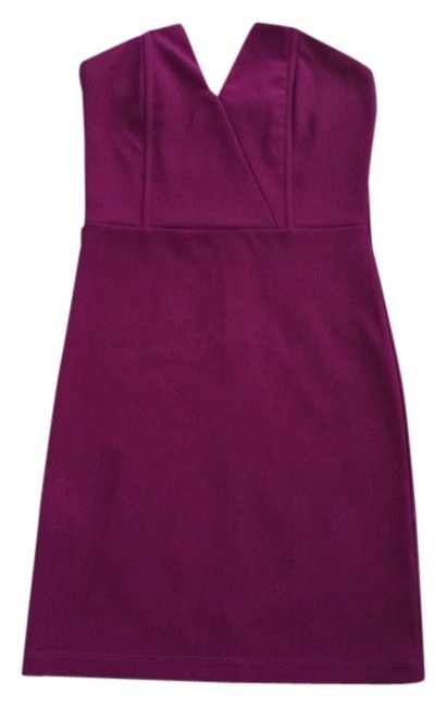 Item - Magenta Night Out Dress Size 4 (S)