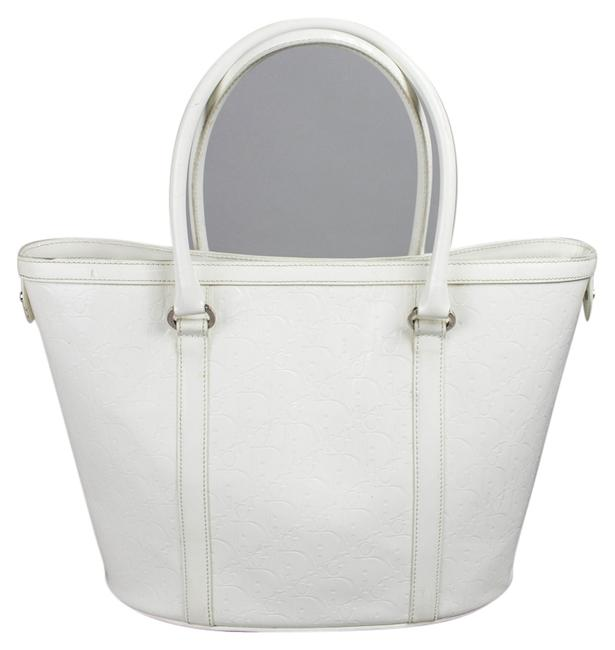 Item - Bag White Patent Leather Tote