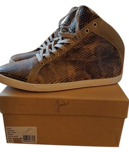 Joie Sneakers Casual Snakeskin Putty-Buff Athletic