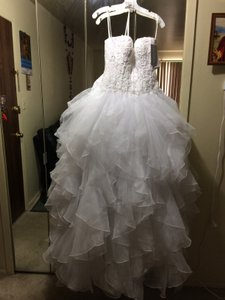 Oleg Cassini Sweet Heart Wedding Dress