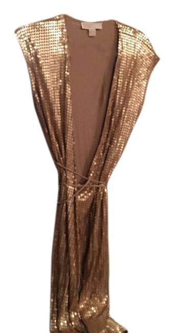 Item - Gold Mdse No 8870422444452 Style 112768 Mid-length Cocktail Dress Size 8 (M)