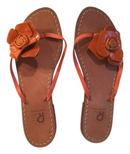 Artigianato Rallo Orange Sandals