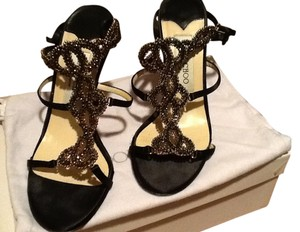 Jimmy Choo Black Sandals