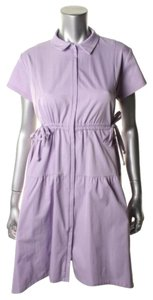 Nanette Lepore short dress Lilac Zipper Zipper Front on Tradesy