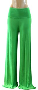 Super Flare Pants Green