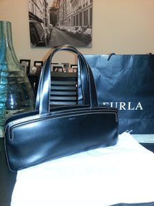 Furla Elegant Italian Leather Duster And Included Like New Well Made Shoulder Bag