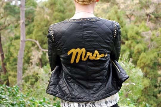 Rock N Roll Bride Jacket