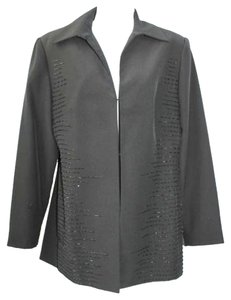 St. Anthony Evening Cocktail Jacket BLACK Blazer