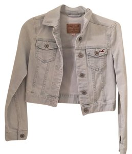 Hollister Light wash denim Womens Jean Jacket