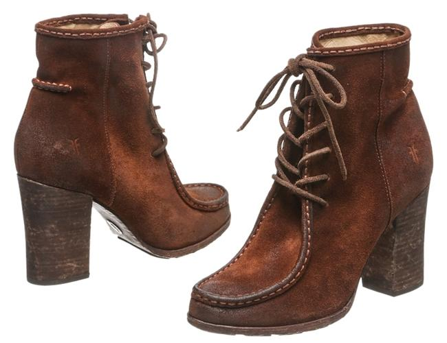 Item - Brown Distressed Suede Moccassin 7.5) Boots/Booties Size US 7.5 Regular (M, B)