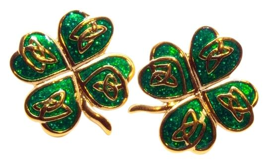 Other enameled shamrock posts