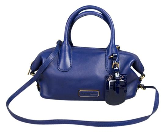 Preload https://img-static.tradesy.com/item/7486936/marc-by-marc-jacobs-medium-legend-blue-leather-satchel-0-1-540-540.jpg