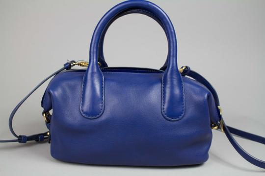 Marc by Marc Jacobs Medium Legend Satchel in Blue Image 3