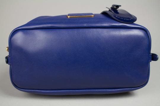 Marc by Marc Jacobs Medium Legend Satchel in Blue Image 4