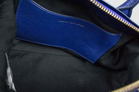 Marc by Marc Jacobs Medium Legend Satchel in Blue Image 5