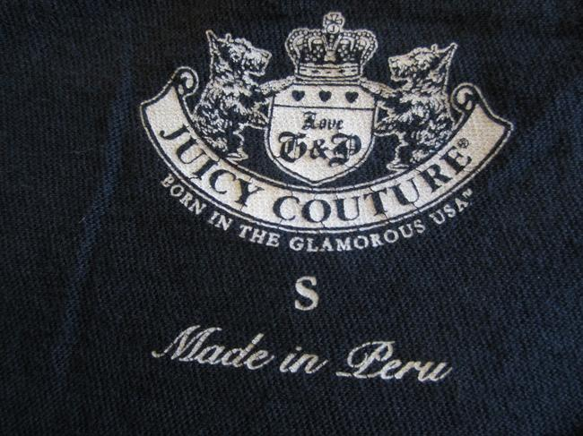 Juicy Couture T Shirt Navy Blue
