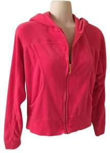 Juicy Couture J Zipper Pull Terry Terry Cloth Shirt Jacket Soft Sweatshirt