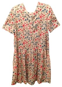 Calypso St. Barth short dress White Floral on Tradesy