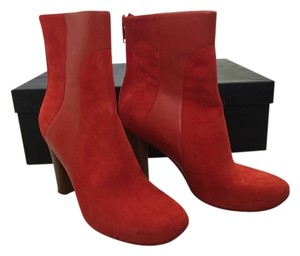Marc by Marc Jacobs Suede Red Boots