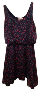 Modcloth short dress Navy Floral on Tradesy