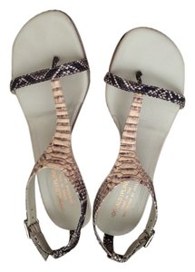 Donald J. Pliner Multicolor (Black, Brown, Cream) Sandals