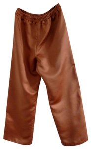 Rose Taft Comfortable Trouser Pants Caramel