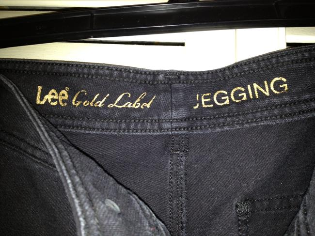 Lee Gold Label JEGGING Black Leggings