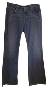 Calvin Klein Flare Pants Denim Blue