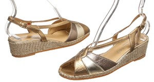 Cosecomode Silver/Gold/Bronze Sandals