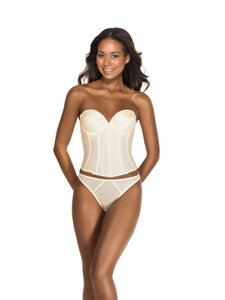 Dominique Low Back Satin Brasselette 7750