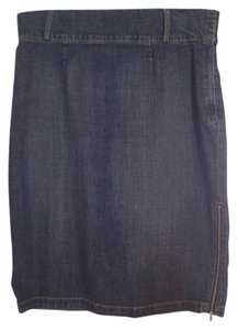 Bisou Bisou Skirt Denim Blue