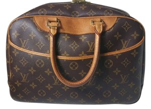 Louis Vuitton Pre-owned Monogram Deauville Satchel in Brown