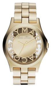 Marc by Marc Jacobs Ladies Gold IP Mirror Dial Watch