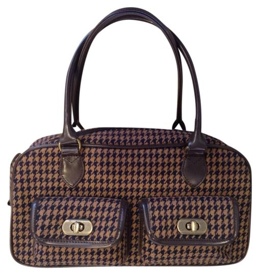 La Chambre d'ine Fabulous French Fun Satchel in Brown/Black