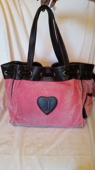 Juicy Couture Tote in Pink and Brown Image 3